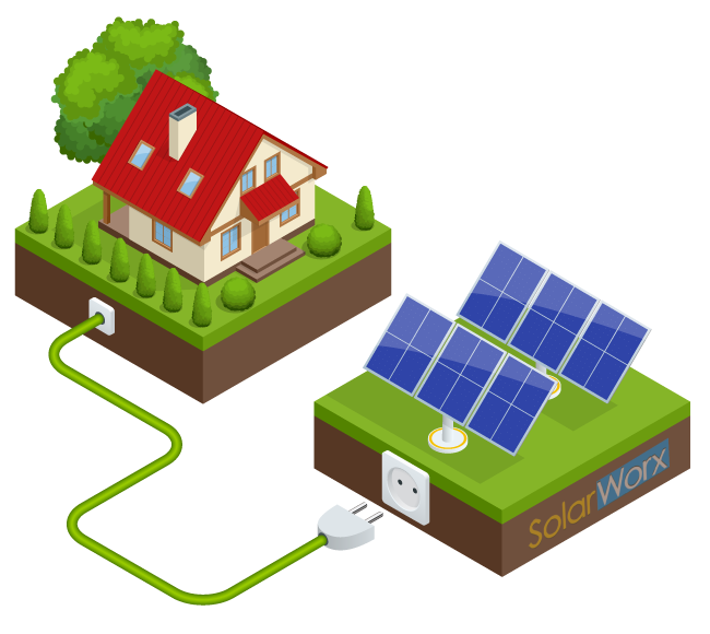 Increase your property value with solar panels from SolarWorx Energy in Tuolumne County