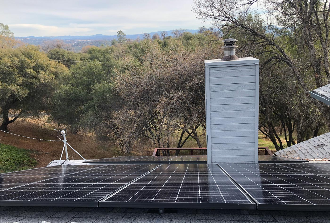 SolarWorx Energy solar installation on roof in Tuolumne County: Local Solar Installers